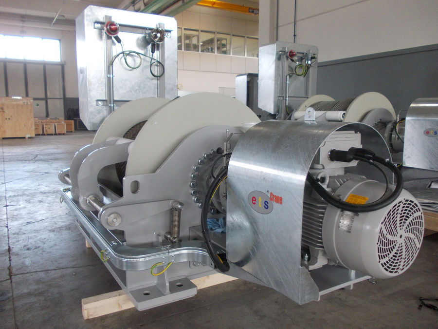 Atex Electric Winch 187 Ets S P A