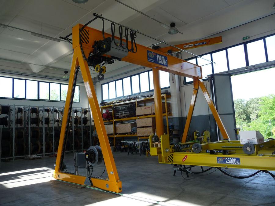 Single Girder Gantry Crane Ets