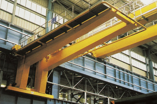 Single girder or double girder walking crane