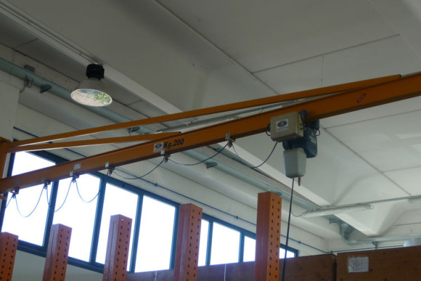 GBC-type bracket-mounted crane