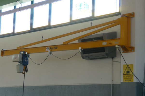 Gbh-type bracket-mounted crane