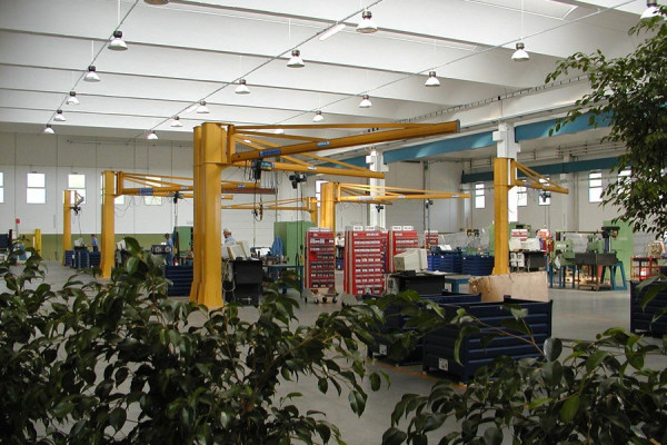 GBC-type column-mounted cranes